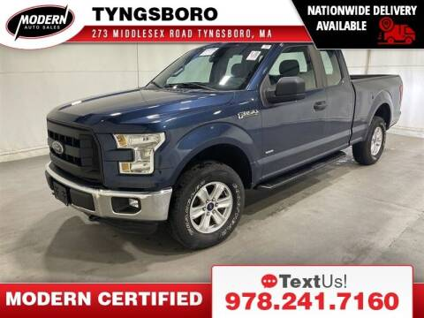 2016 Ford F-150 for sale at Modern Auto Sales in Tyngsboro MA