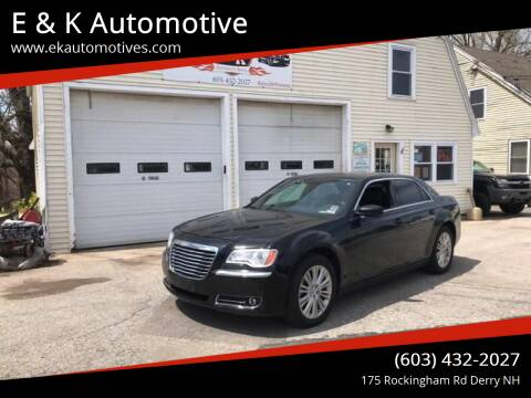 2014 Chrysler 300 for sale at E & K Automotive in Derry NH