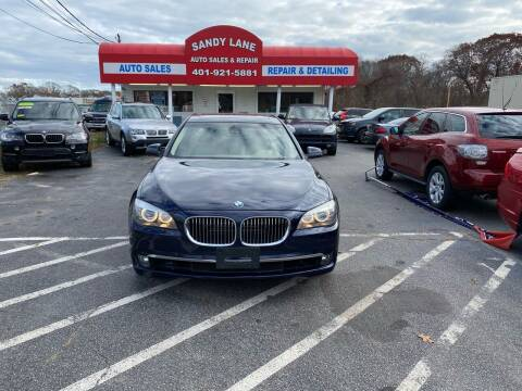 2011 BMW 7 Series for sale at Sandy Lane Auto Sales and Repair in Warwick RI