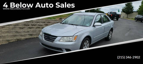 2010 Hyundai Sonata for sale at 4 Below Auto Sales in Willow Grove PA