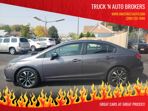 2014 Honda Civic for sale at Truck 'N Auto Brokers in Pocatello ID