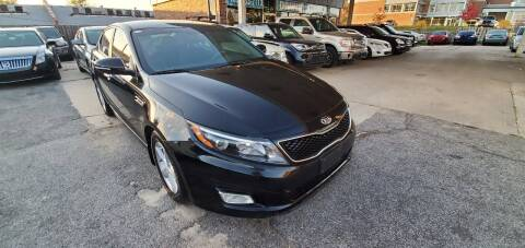 2015 Kia Optima for sale at Divine Auto Sales LLC in Omaha NE