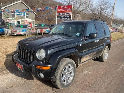 2004 Jeep Liberty for sale at Korz Auto Farm in Kansas City KS