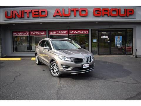 2017 Lincoln MKC for sale at United Auto Group in Putnam CT