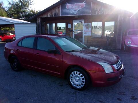 2007 Ford Fusion for sale at LEE AUTO SALES in McAlester OK