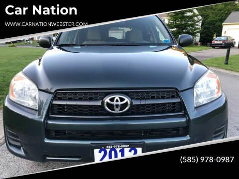 2012 Toyota RAV4 for sale at Car Nation in Webster NY