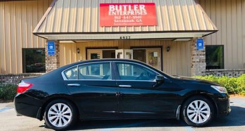 2014 Honda Accord for sale at Butler Enterprises in Savannah GA