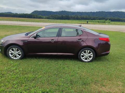 2012 Kia Optima for sale at SCENIC SALES LLC in Arena WI