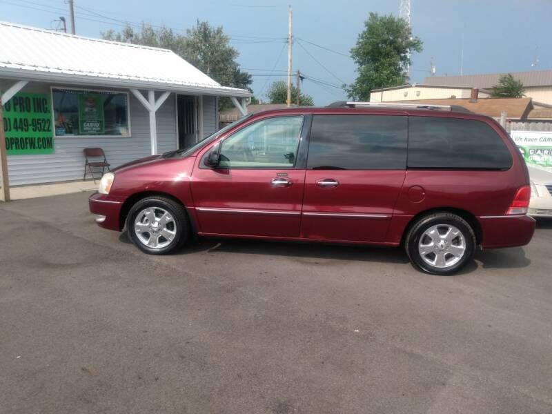 2006 Ford Freestar for sale at Auto Pro Inc in Fort Wayne IN