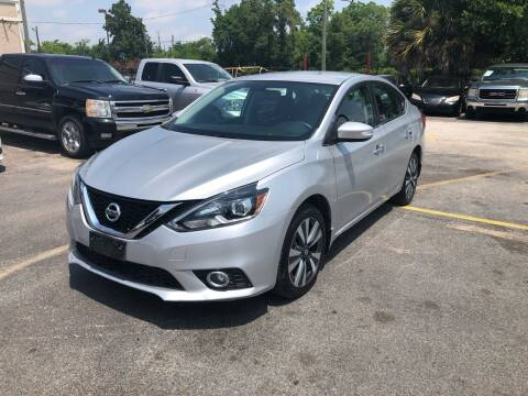 2017 Nissan Sentra for sale at Saipan Auto Sales in Houston TX