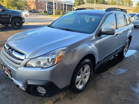 2014 Subaru Outback for sale at TOP YIN MOTORS in Mount Prospect IL