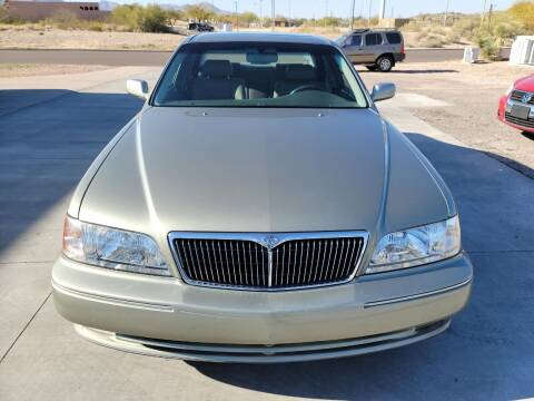 1998 Infiniti Q45 for sale at Carzz Motor Sports in Fountain Hills AZ