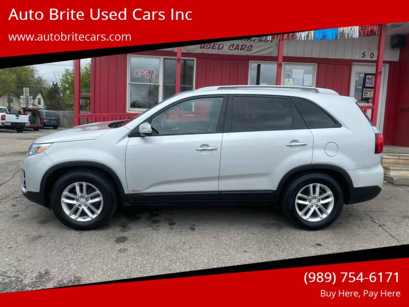 2014 Kia Sorento for sale at Auto Brite Used Cars Inc in Saginaw MI