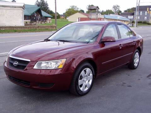 2007 Hyundai Sonata for sale at The Autobahn Auto Sales & Service Inc. in Johnstown PA
