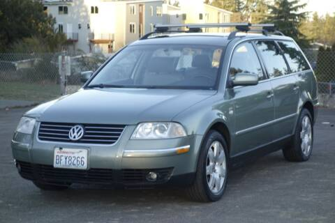 2003 Volkswagen Passat for sale at West Coast Auto Works in Edmonds WA