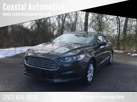 2016 Ford Fusion for sale at Coastal Automotive in Virginia Beach VA