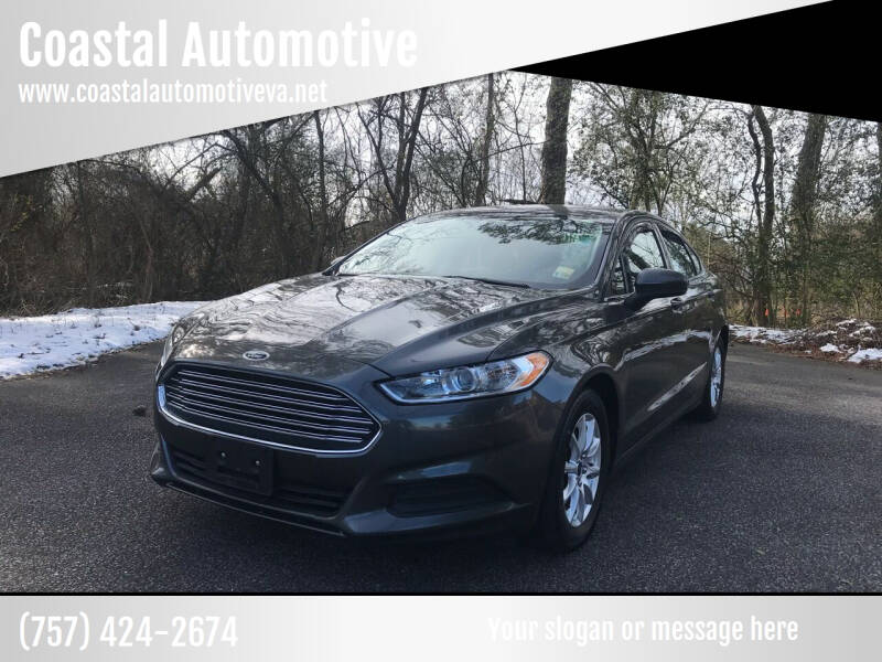 2016 Ford Fusion for sale at Coastal Automotive in Virginia Beach VA