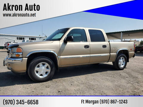 2005 GMC Sierra 1500 for sale at Akron Auto - Fort Morgan in Fort Morgan CO