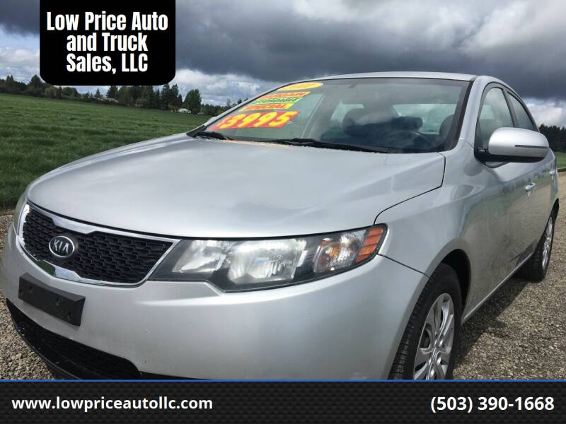 2011 Kia Forte for sale at Low Price Auto and Truck Sales, LLC in Salem OR