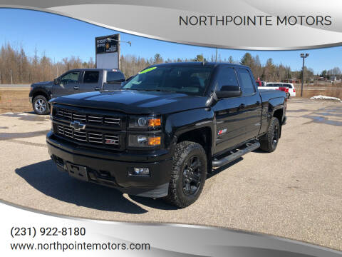 2015 Chevrolet Silverado 1500 for sale at Northpointe Motors in Kalkaska MI
