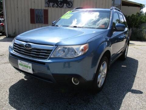 2010 Subaru Forester for sale at Roland's Motor Sales in Alfred ME