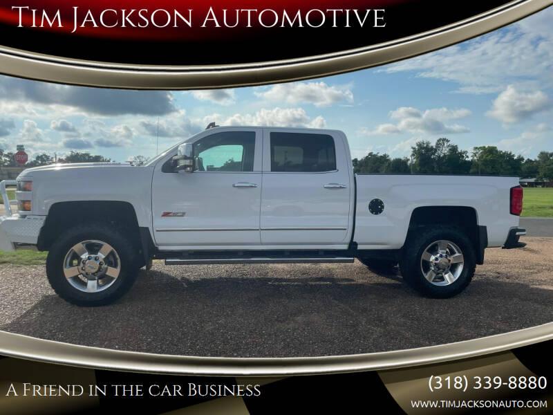 2016 Chevrolet Silverado 2500HD for sale at Tim Jackson Automotive in Jonesville LA