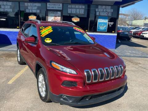2016 Jeep Cherokee for sale at Cow Boys Auto Sales LLC in Garland TX