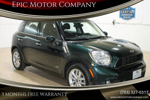 2011 MINI Cooper Countryman for sale at Epic Motor Company in Chantilly VA