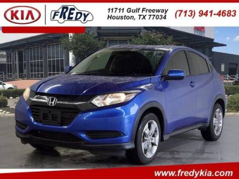 2018 Honda HR-V for sale at FREDYS CARS FOR LESS in Houston TX