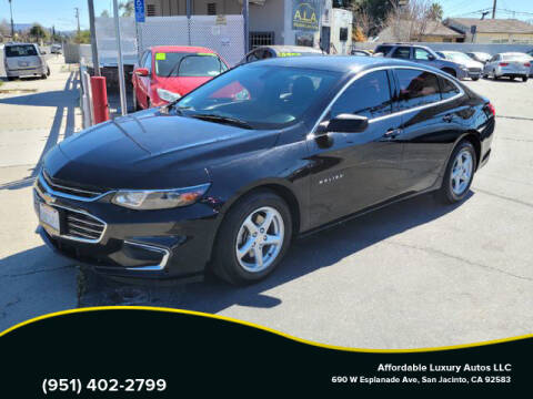 2016 Chevrolet Malibu for sale at Affordable Luxury Autos LLC in San Jacinto CA