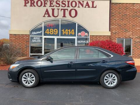 2015 Toyota Camry for sale at Professional Auto Sales & Service in Fort Wayne IN