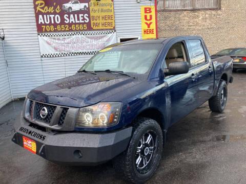 2008 Nissan Titan for sale at RON'S AUTO SALES INC in Cicero IL