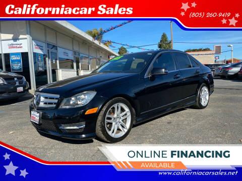 2013 Mercedes-Benz C-Class for sale at Californiacar Sales in Santa Maria CA