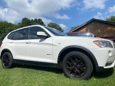 2011 BMW X3 for sale at C & C Automotive in Chicora PA