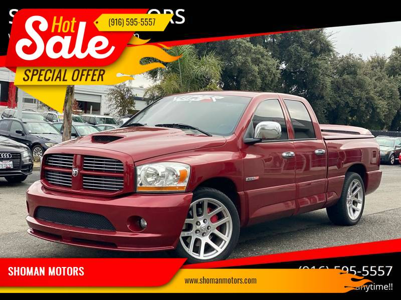 2006 Dodge Ram Pickup 1500 SRT-10 for sale at SHOMAN AUTO GROUP in Davis CA
