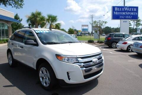 2013 Ford Edge for sale at BlueWater MotorSports in Wilmington NC