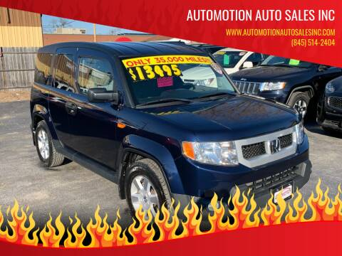 2010 Honda Element for sale at Automotion Auto Sales Inc in Kingston NY