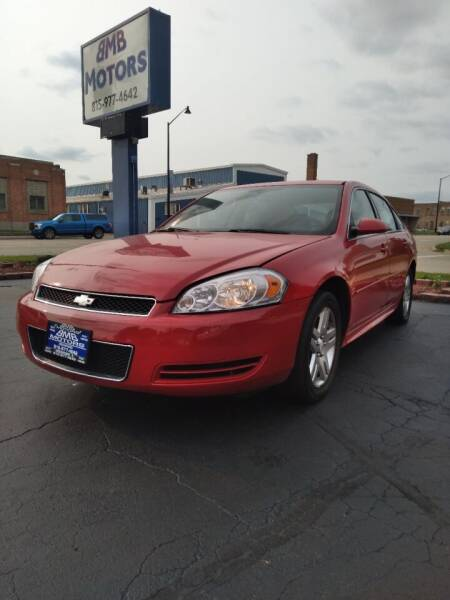 2012 Chevrolet Impala for sale at BMB Motors in Rockford IL