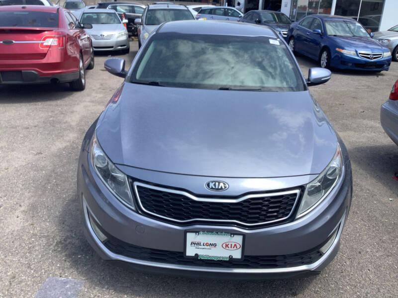 2012 Kia Optima Hybrid for sale at GPS Motors in Denver CO