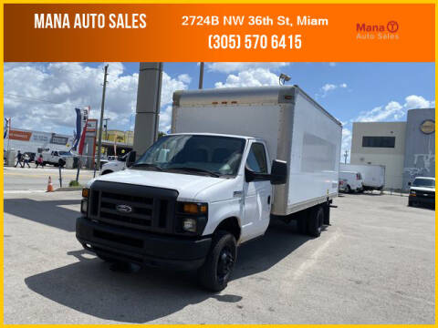 2013 Ford E-Series Chassis for sale at MANA AUTO SALES in Miami FL