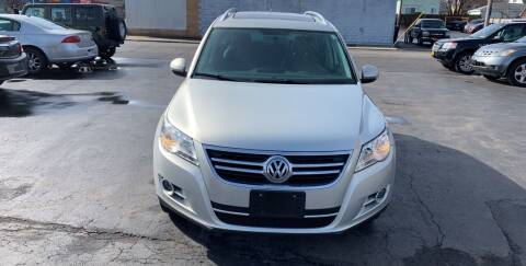 2011 Volkswagen Tiguan for sale at L.A. Automotive Sales in Lackawanna NY