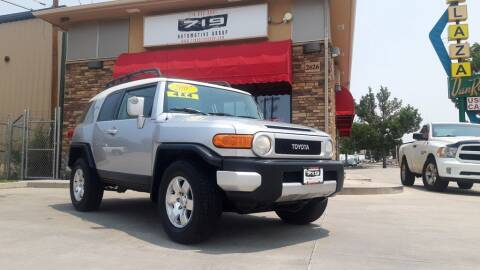 2007 Toyota FJ Cruiser for sale at 719 Automotive Group in Colorado Springs CO