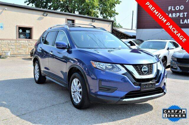 2018 Nissan Rogue for sale at LAKESIDE MOTORS, INC. in Sachse TX