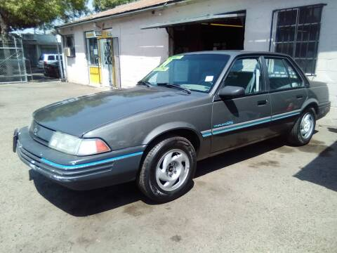 1991 Chevrolet Cavalier for sale at Larry's Auto Sales Inc. in Fresno CA