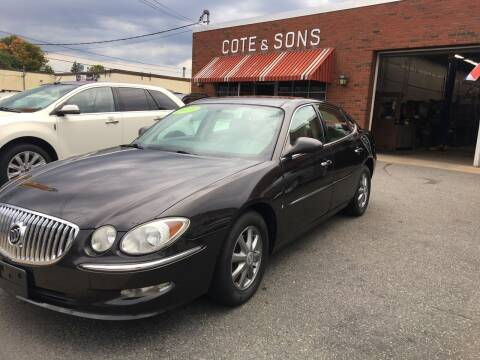 2009 Buick LaCrosse for sale at Cote & Sons Automotive Ctr in Lawrence MA