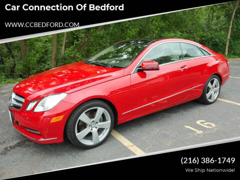 2013 Mercedes-Benz E-Class for sale at Car Connection of Bedford in Bedford OH