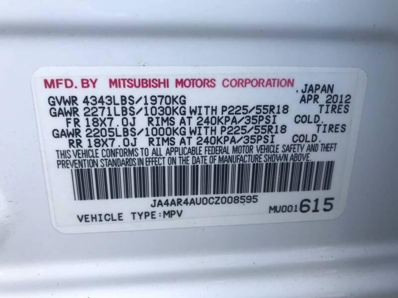 2012 Mitsubishi Outlander Sport AWD SE 4dr Crossover - Westampton NJ