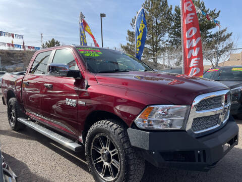 2018 RAM Ram Pickup 1500 for sale at Duke City Auto LLC in Gallup NM