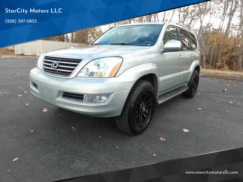 2003 Lexus GX 470 for sale at StarCity Motors LLC in Garden City ID