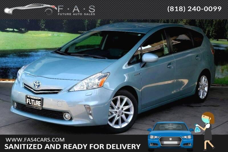 2014 Toyota Prius v for sale at Best Car Buy in Glendale CA